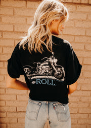 Vintage Let The Good TImes Roll Harley Tee