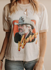 1981 KENNY ROGERS North American Tour Tee