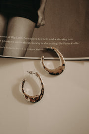 VINTAGE HAMMERED HOOPS
