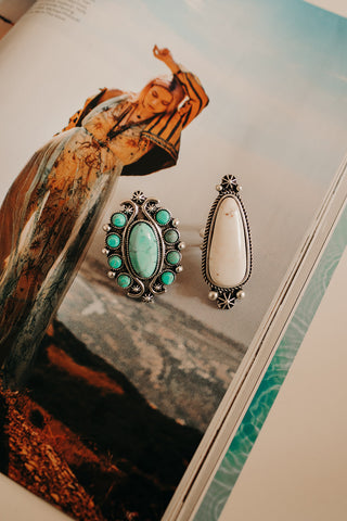 WINSLOW TEARDROP RING