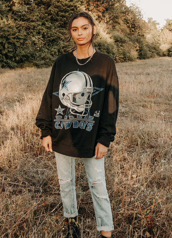'97 Cowboys Helmet Sweatshirt