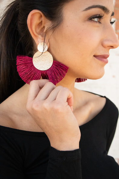 Saucy Fringe Earrings