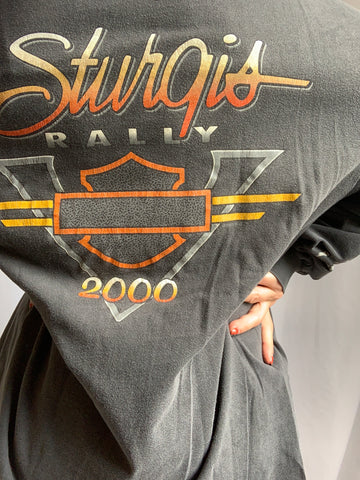 '00 BAD TO THE BONE STURGIS TEE