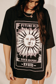 THE FUTURE IS IN YOUR HANDS TEE