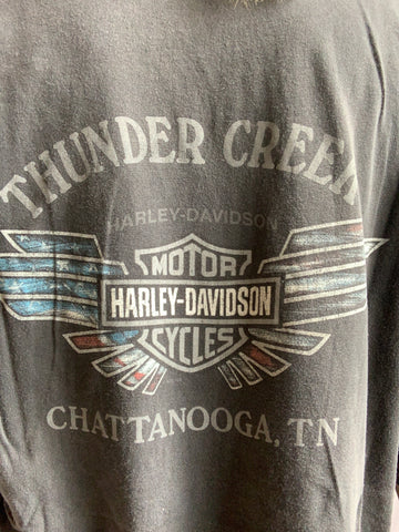 '00 HARLEY THUNDER CREEK DISTRESSED TEE