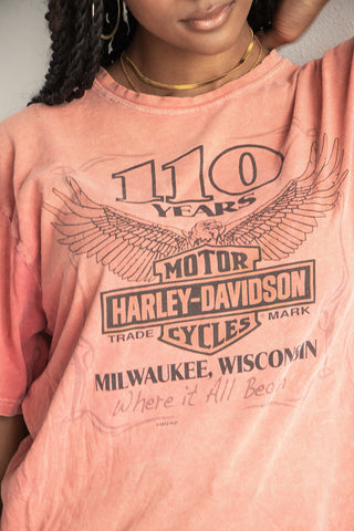 '12 Where It All Began Harley Tee