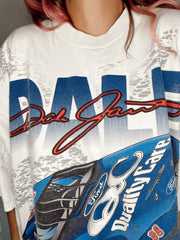 "90'S ""THIS BIRD'S READY TO FLY"" DALE JARRETT RACE CAR TEE"
