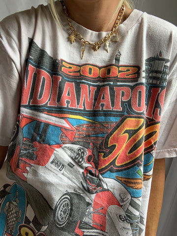 '02 INDIANAPOLIS 500 TEE