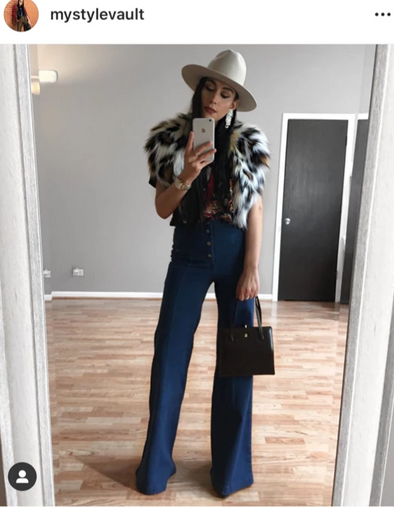 Jackie Denim Bell Bottoms