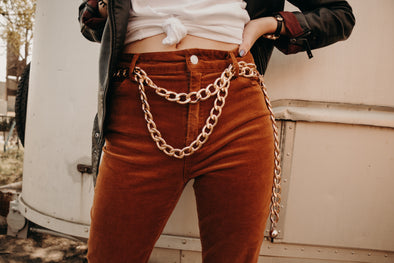 Ziggy Chain Belt