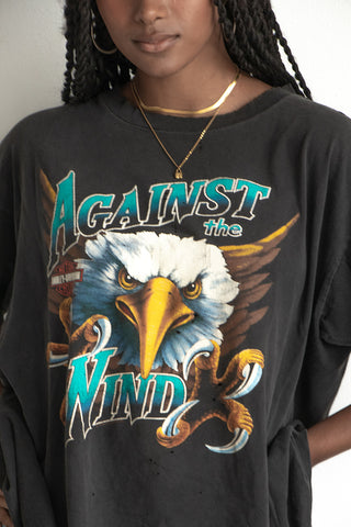 '93 Against The Wind Harley Tee