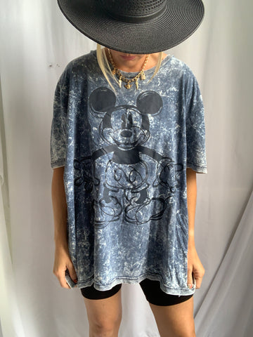 BURNOUT MICKEY MOUSE TEE