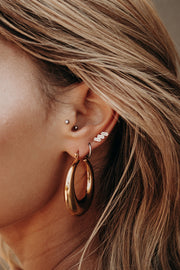 Elevated Chunky Hoops