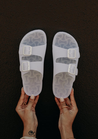 Lennie Slides (Cloud White)