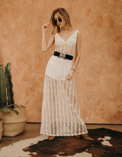 Riverside Lace Maxi