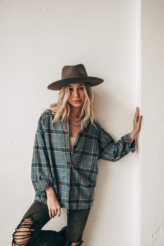 In Check Flannel