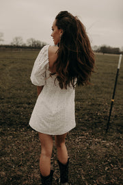 COUNTRYSIDE EYELET DRESS