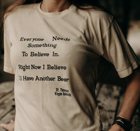 """I'LL HAVE ANOTHER A BEER"" TEE"