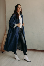 VINTAGE DENIM DUSTER