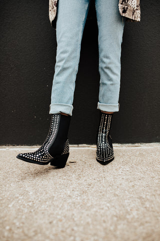 BROADWAY STUD BOOTIES (LIMITED EDITION)