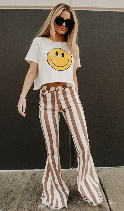 KICKASS STRIPED FLARES