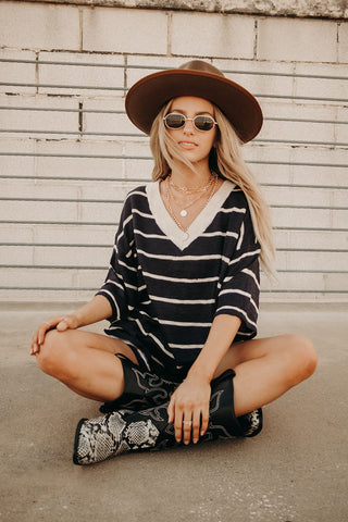 Not-So-Basic Striped Knit