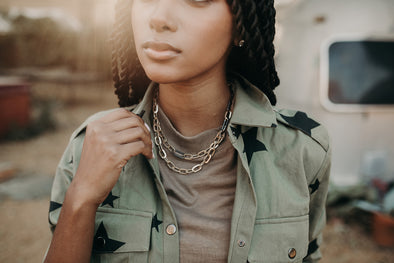 Linked Up Layered Necklace