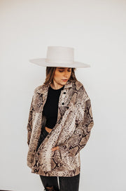 SAY YES SNAKESKIN JACKET (LIMITED EDITION)