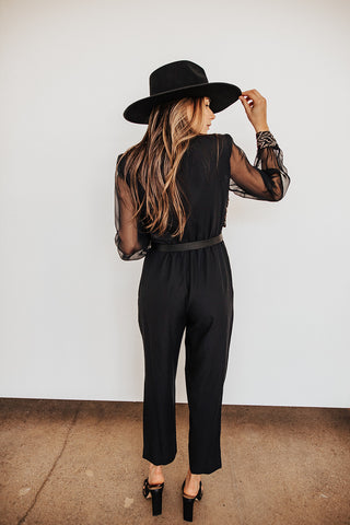 VINTAGE Gold & Black Jumpsuit (only 1 available)