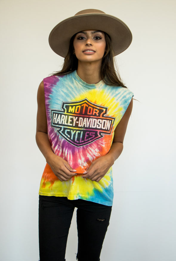 Harley Davidson Tie Dye Tank (1 available)