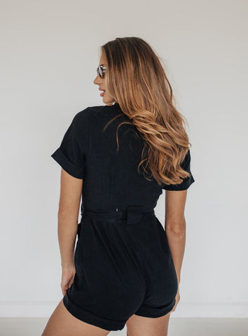 COOL GIRL UTILITY ROMPER