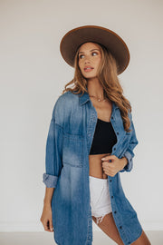 OVERSIZED BOYFRIEND CHAMBRAY