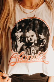 BLONDIE DISTRESSED CROP