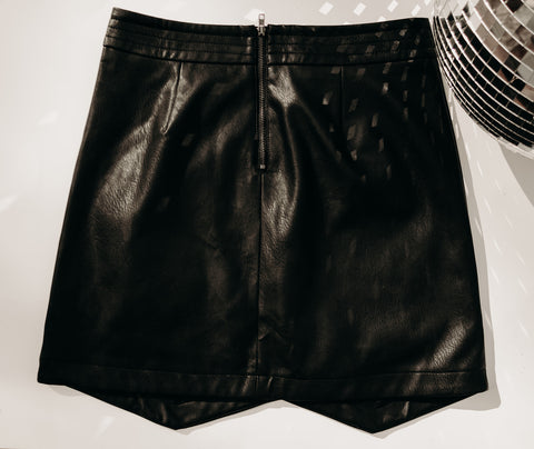 Vegan Leather Skirt (LIMITED EDITION)