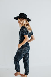 """RUFFLE ME UP"" BLANK NYC JUMPSUIT"