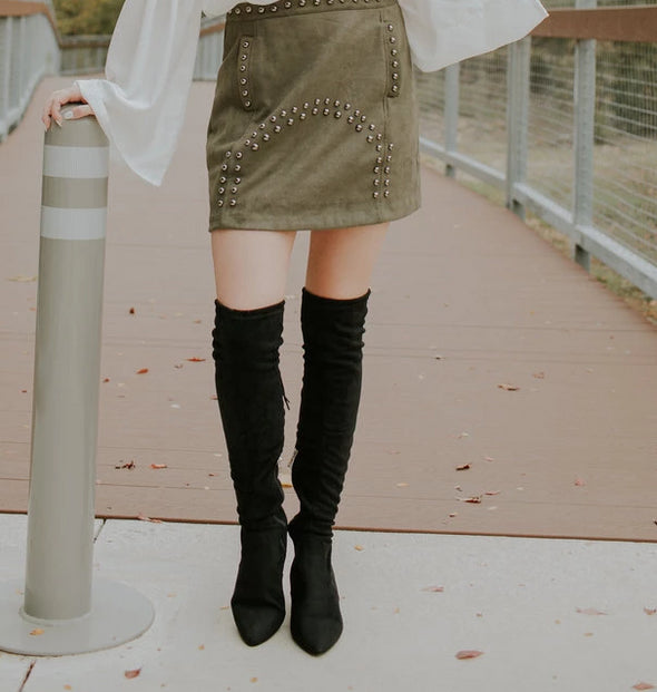 Olivia Over The Knee Boot