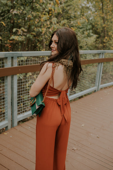 Spiced Jumpsuit
