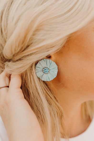 Artic Flower Stud