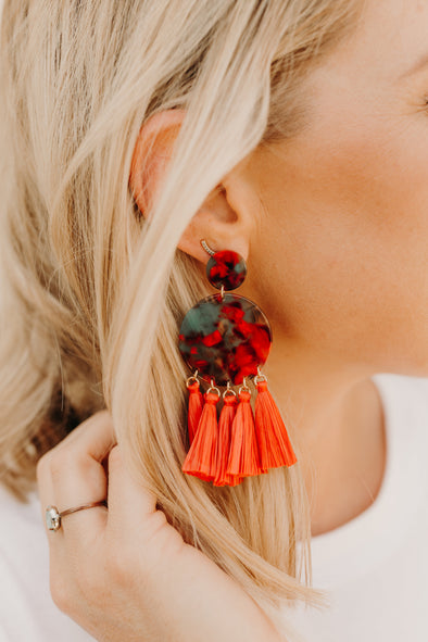 Wild Salsa Tassel Earrings