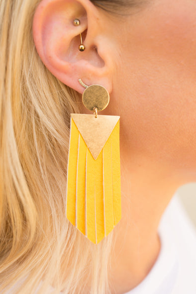 Electric Fringe Earrings