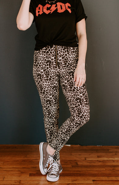 Wild Thing Leopard Pants (1 left)