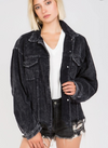 Distressed Cord Jacket