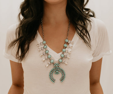 Arizona Statement Necklace