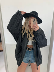 Vintage Leather Jacket (1 available)