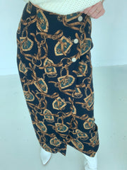Vintage Equestrian Skirt (1 available)