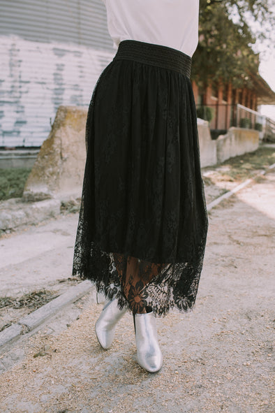 Coco Lace Skirt