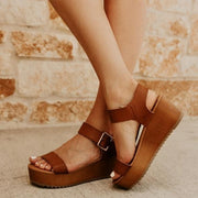 Jackie Wedge Sandal