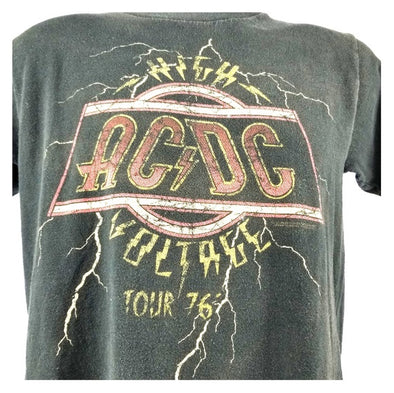 AC/DC '76 HIGH VOLTAGE TOUR TEE (Only 1 available)