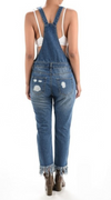 Brooklyn Distressed Overalls