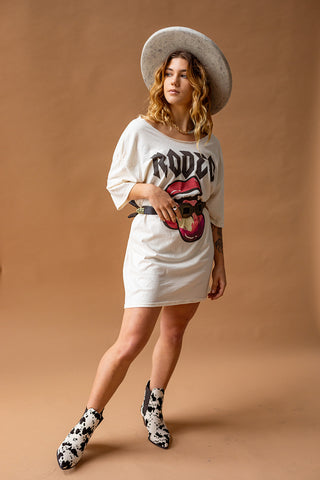 ROCK N' RODEO T-SHIRT DRESS